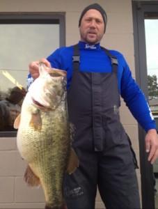 Billy Lemon Grand Lake Record larmouth 12.3 pounds