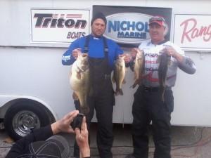 Billy Lemon and Corey Smith Winning Catch