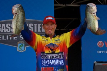 Elite Series Falcon Lake Day One Leader Keith Combs