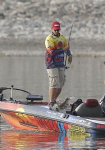 Elite Series Falcon Lake Day Three Leader Keith Combs