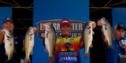 Elite Series Falcon Lake Day Two Leader Keith Combs