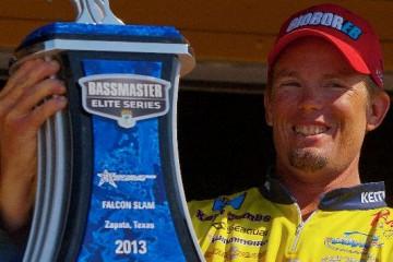 Elite Series Falcon Lake Winner Keith Combs
