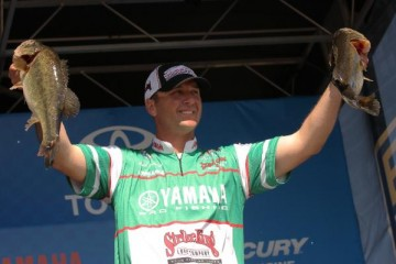 Elite Series Sabine River Day Two Leader Todd Faircloth