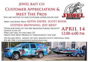 Jewel Bait Company 2013 Open House Flyer