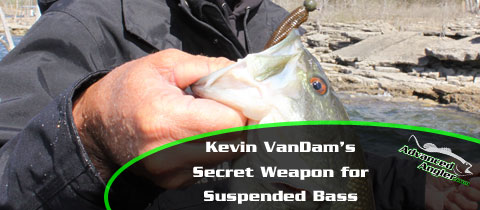 Kevin VanDam's Secret Weapon for Suspended Bass