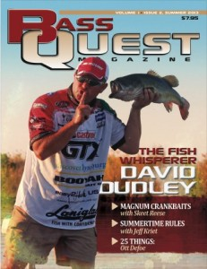 Bass Quest David Dudley Summer Cover