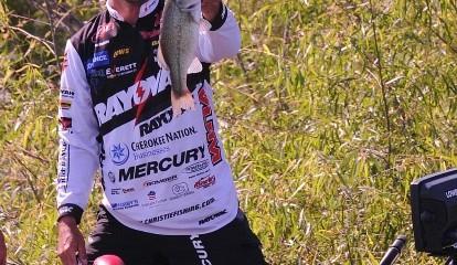 FLW Tour Grand Lake - Day Two Leader Jason Christie