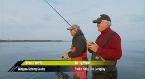 Doug Minor and Chris Cinelli Niagra Lake Trout