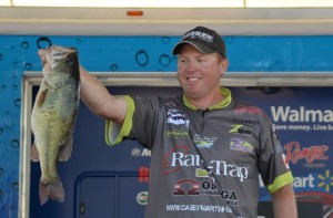 FLW Chickamauga Day Three Leader Casey Martin