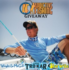 Lazer TroKar Addictive Fishing Giveaway