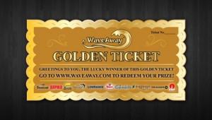 WaveAway Golden Ticket