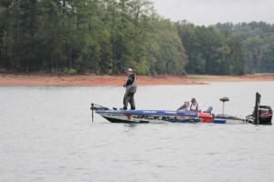 Cody Meyer Fishing Vertically