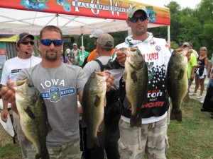 SPRO Iowa Frog Tournament Winners Mohn