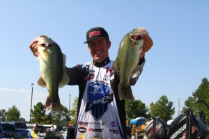 Jacob Wheeler with his Best from Day Three - photo by Jason Duran