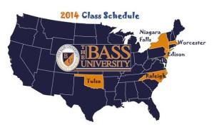 The Bass University 2014 Site Map