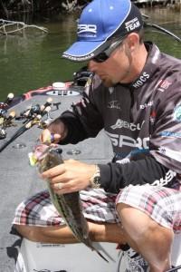 John Crews Crankbait Spotted Bass