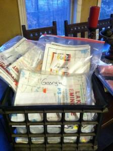 Mike McClelland Hefty Map Storage