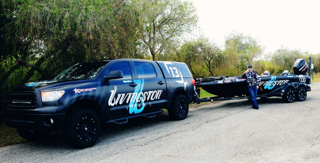 Stetson Blaylock Livingston Lures Wrap for 2014