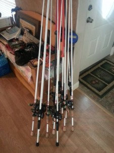 Who Needs this many Rods - Me