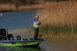 Fred Roumbanis Fishing Shallow - photo courtesy True Image Promotions
