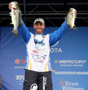 Brandon Lester at Lake Seminole Weigh-in - photo courtesy Pro Fishing Management