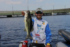 Brandon Lester with a Nice One Caught in a Tournament - photo courtesy Pro Fishing Management