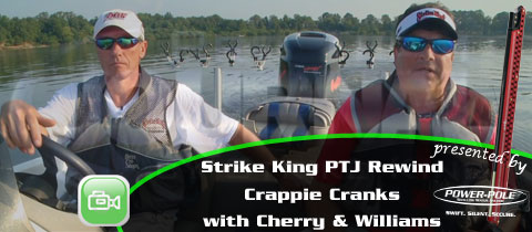 Strike King Pro Team Journal Rewind – Trolling Crappie Cranks