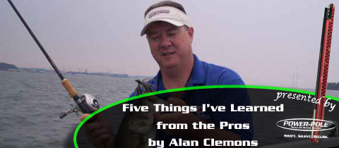 Five Things I've Learned from the Pros – Alan Clemons