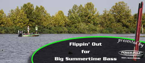 Flippin' Out for Big Summertime Bass
