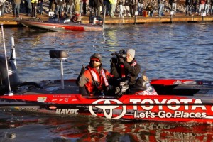 Mike Iaconelli at the 2014 Bassmaster Classic - photo by Dan O'Sullivan