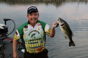 Charlie Evans with a Nice Bass