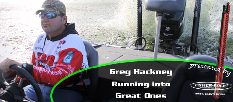 Greg Hackney – Running Into Great Ones