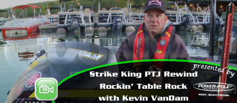 Strike King Pro Team Journal Rewind – Kevin VanDam Rocks Table Rock