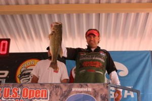 2014 WON Bass U.S. Open Day One Leader Clifford Pirch - photo by Dan O'Sullivan