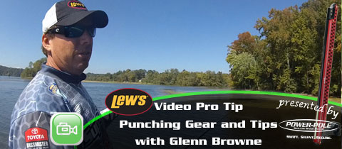 Lew's Video Pro Tip – Heavy Cover Tips and Gear with Glenn Browne