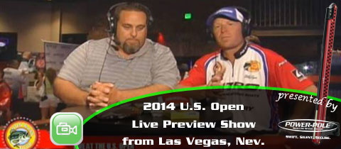 2014 WON Bass U.S. Open Preview Show from Las Vegas