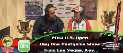 Day One U.S. Open Post Game Show from Lake Mead