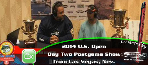 2014 WON Bass U.S. Open Day Two Postgame Show with Leader Clifford Pirch
