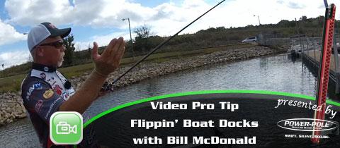 Video Pro Tip  – Flippin' Boat Docks with Bill McDonald