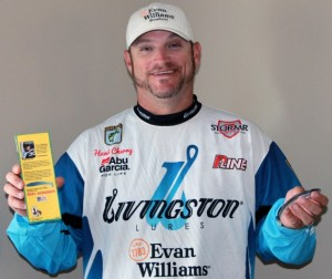 Hank Cherry Signs with Creme Lures