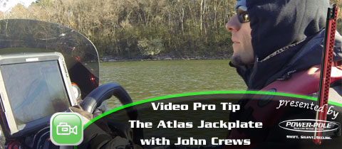 Video Pro Tip – How and Why John Crews uses the T-H Marine Atlas Hydraulic Jackplate