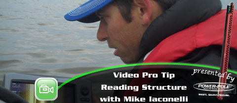 Video Pro Tip – Reading Structure on LOWRANCE – with Mike Iaconelli