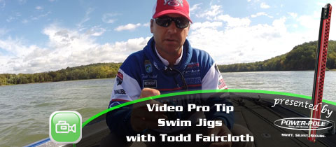 Video Pro Tip – Swim Jigs with Todd Faircloth