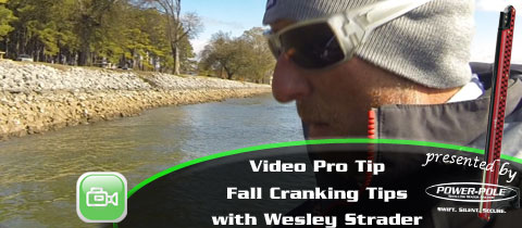 Video Pro Tip – Cranking in the Fall with Wesley Strader