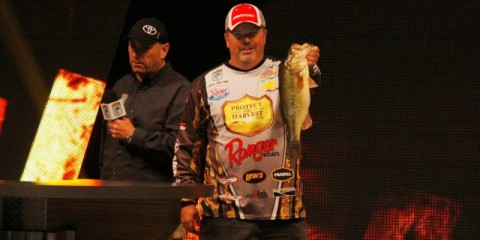 John Murray 2014 Bassmaster Classic Stage - photo by Dan O'Sullivan