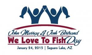 We Love to Fish Day Arizona Logo