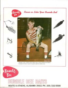1976 Bill Huntley bumble bee catalog cover