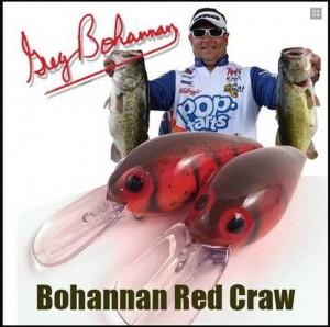 Greg Bohannan Signature Skirmish Baits - Red Craw