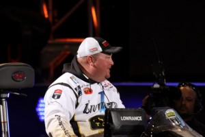 Jacob Powroznik Day One Bassmaster Classic Entry - photo by Dan O'Sullivan