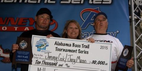Alabama Bass Trail 2015 Millers Ferry Champions Prizes (Custom)